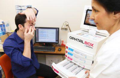 Consultation ophtalmologique pour lentilles - COVO 95