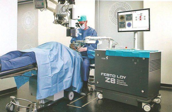 Opération de la cataracte au laser – COVO 95