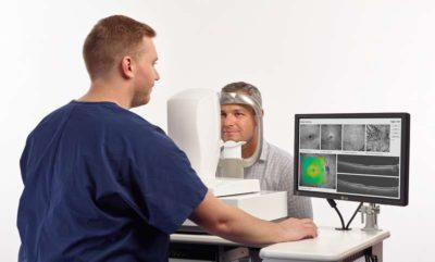 Passer un examen OCT Angiographie - Ophtalmo Osny